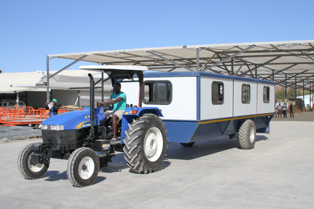 New Farm Transport Vehicles
