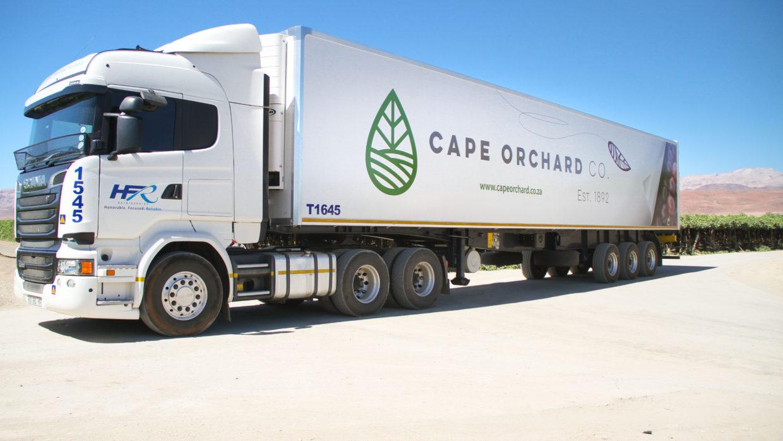 GA & COC Branded HFR Trucks